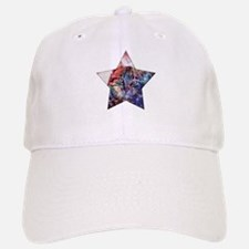 SpaceCat Star Baseball Baseball Cap