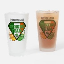 Irish Drinking Team Drinking Glass