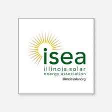 ISEA Logo for white with website Sticker