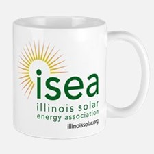ISEA Logo for white with website Mugs