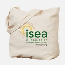 ISEA Logo for white with website Tote Bag