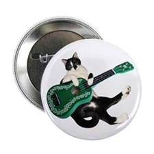 "Cat Ukulele 2.25"" Button"