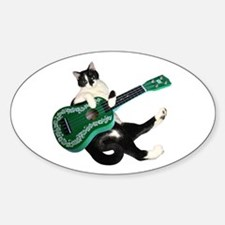 Cat Ukulele Decal