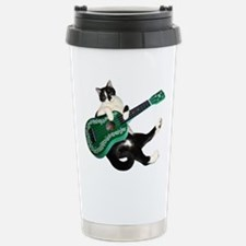 Cat Ukulele Travel Mug