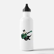 Cat Ukulele Water Bottle