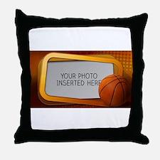 Basketball Window L Throw Pillow