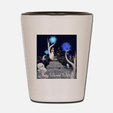 Alice In Wonder World Shot Glass