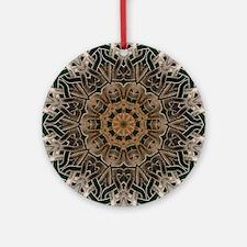 Stone Celtic Knot Kaleidoscope Round Ornament