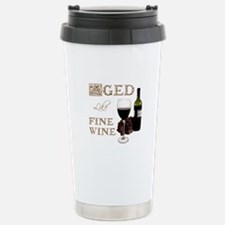 Aged Like Fine Wine Stainless Steel Travel Mug