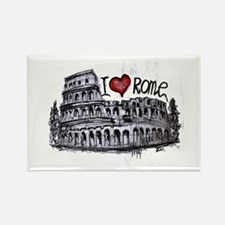 Cute Roma Rectangle Magnet