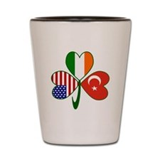 Shamrock of Turkey Shot Glass