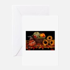Vintage Halloween Decoration Greeting Cards