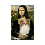 Mona's Papillon Rectangle Magnet (10 pack)