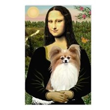 Mona's Papillon Postcards (Package of 8)