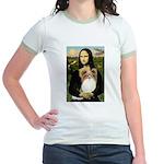 Mona's Papillon Jr. Ringer T-Shirt