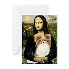 Mona's Papillon Greeting Cards (Pk of 20)
