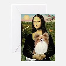 Mona's Papillon Greeting Cards (Pk of 10)