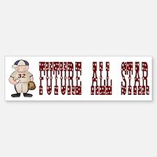 Baseball (Future All Star) Bumper Bumper Bumper Sticker