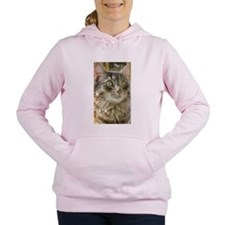 Buddy Boo Boo Cat Women's Hooded Sweatshirt