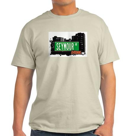 SEYMOUR AV, Bronx, NYC Light T-Shirt