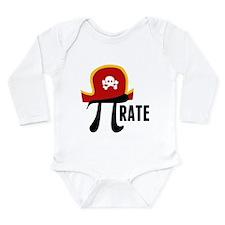 Pi-Rate Long Sleeve Infant Bodysuit