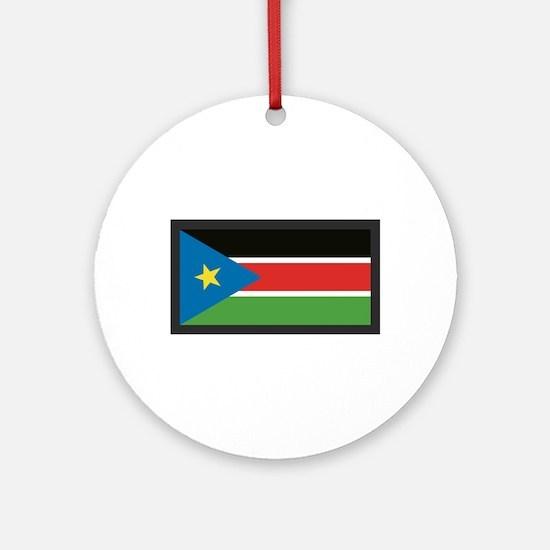 SOUTH SUDAN FLAG Ornament (Round)