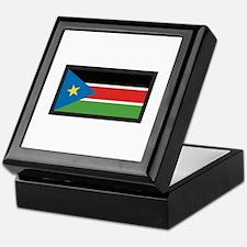 SOUTH SUDAN FLAG Keepsake Box