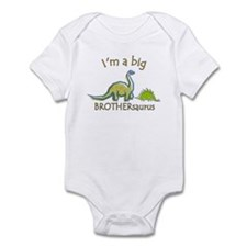 I'm a Big Brother Dinosaur Infant Bodysuit