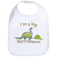 I'm a Big Brother Dinosaur Bib