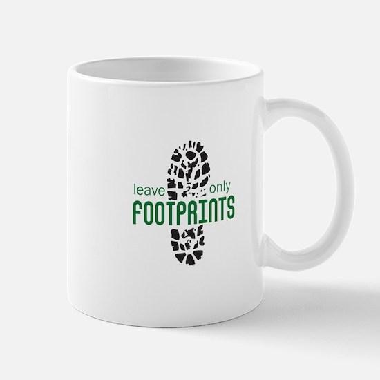 Foot Prints Mugs