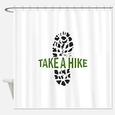 Take A Hike Shower Curtain