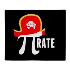 Pi-Rate Throw Blanket