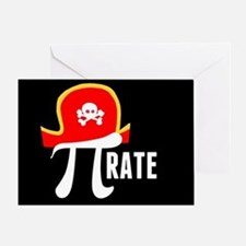 Pi-Rate Greeting Card