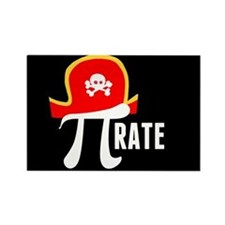Pi-Rate Rectangle Magnet