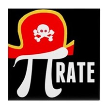 Pi-Rate Tile Coaster