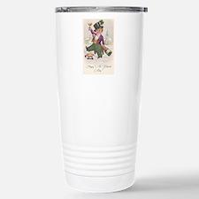 Vintage Happy St. Patrick's Day Travel Mug