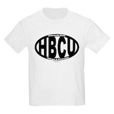 Black/White HBCU T-Shirt