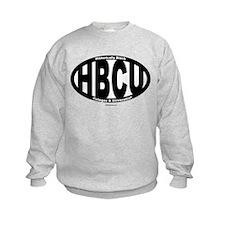 Black/White HBCU Sweatshirt