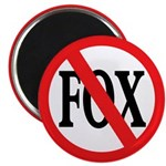 No Fox Magnet (100 pack)