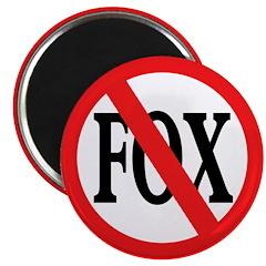 No Fox Magnet (100 pack)
