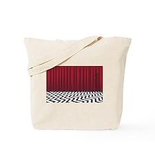 Black Lodge Red Room Tote Bag