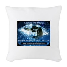 Steve Richards Tributes Woven Throw Pillow