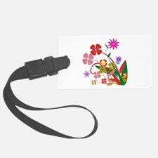 Abstract Flowers Luggage Tag