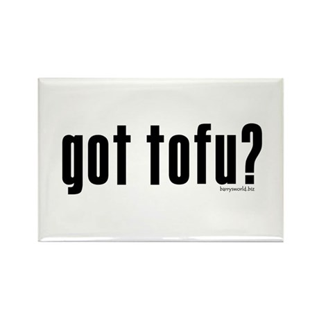 got tofu? Rectangle Magnet (100 pack)