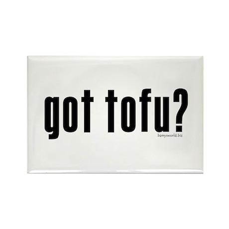 got tofu? Rectangle Magnet (10 pack)