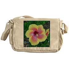 Hawaiian Hibiscus Messenger Bag