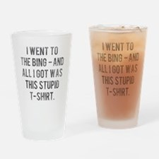 The Sopranos Bada Bing Drinking Glass