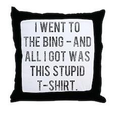 The Sopranos Bada Bing Throw Pillow