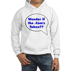 Wonder if .Com is taken Hoodie