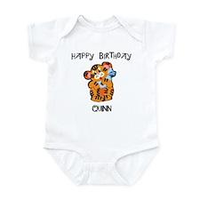 Happy Birthday Quinn (tiger) Infant Bodysuit